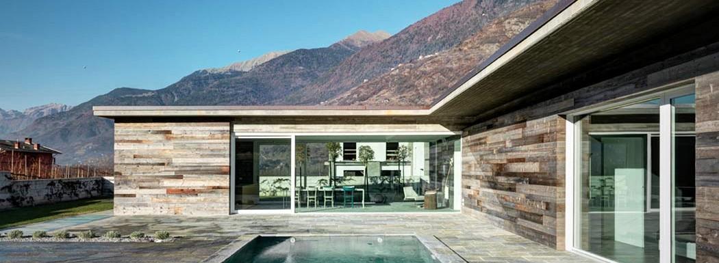 Casa moderna din piatra » Zona de Sud.1