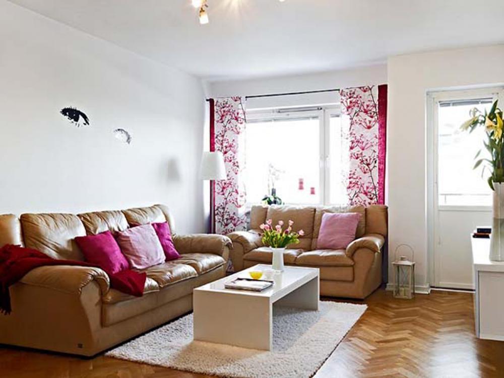 perfect natural wood interior living room design on beautiful small livingroom